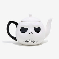 The Nightmare Before Christmas Jack Skellington Head Teapot - BoxLunch Exclusive