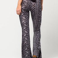 FULL TILT Floral Paisley Womens Flared Pants | Pants & Joggers