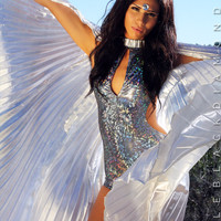 Silver Isis Wings
