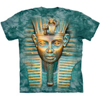 KING TUT T-Shirt The Mountain Big Face Egyptian Pharaoh Tutankhamun S-5XL NEW