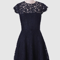 Rylin Lace Dress In Navy By BB Dakota