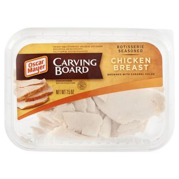 Oscar Mayer Carving Board Chicken Breast Rotisserie Seasoned Browned with Caramel Color, 7.5 OZ - Walmart.com