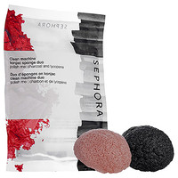 SEPHORA COLLECTION Clean Machine Konjac Sponge Duo - Polish me