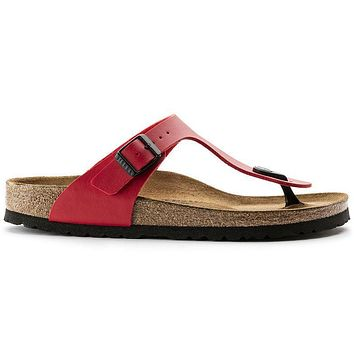 Birkenstock Gizeh Birko Flor Cherry 43741 Sandals - Ready Stock