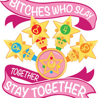 Slay Together, Stay Together Sticker