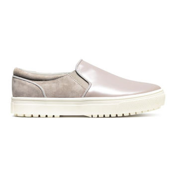 Leather and Suede Shoes - from H&M
