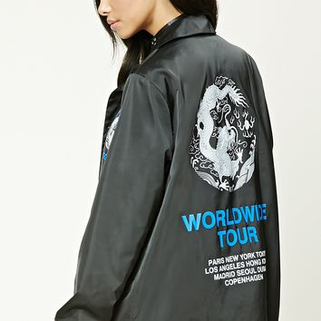 Worldwide Tour Satin Jacket