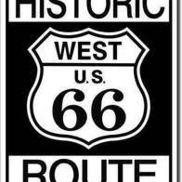 Tin Sign : Historic Route 66