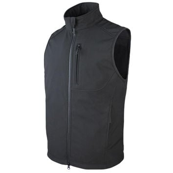Core Softshell Vest Color- Black