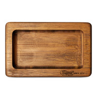 BEAMER Pocket Natural Bamboo Rolling Tray (Mini)