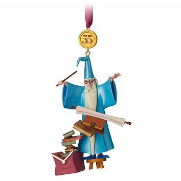 Disney Legacy 55th Merlin Sketchbook Limited Christmas Ornament New with Tags