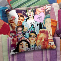 Matthew Espinosa Collage  decorative pillow and pillow case
