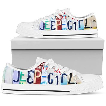 Jeep Girl Low Top