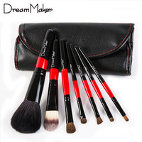 Dreammaker 7 Piece Makeup Brush Set Kit