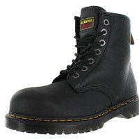 Dr. Martens 7B10 Men's Steel Toe Work Boots Extra Wide