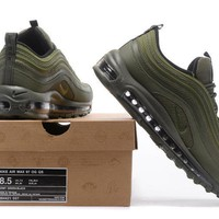 nike air max 97 men sport casual solid color fashion air cushion running shoes sneakers-1
