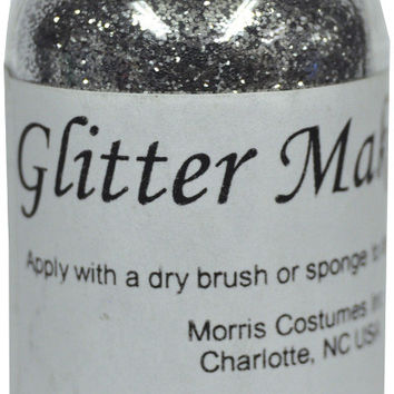 costume makeup: glitter morris silver ? oz. Case of 2