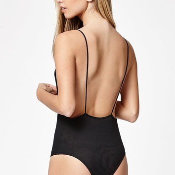LA Hearts V-Neck Open Back Bodysuit at PacSun.com