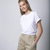 Beige Shorts Women Shorts Casual Shorts