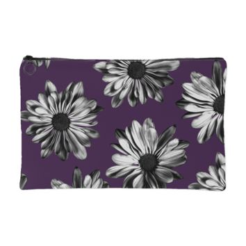 Daisies Makeup Pouch | The Inked Elephant