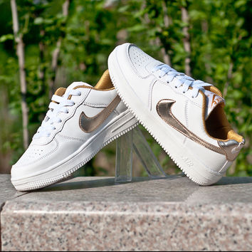 """Nike"" Comfort Stylish On Sale Casual Hot Deal Couple White Permeable Men's Shoes Korean Low-cut Fashion Sneakers [9115454471]"