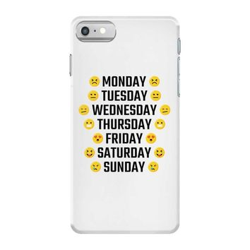Moods Of The Week Daily Emoji iPhone 7 Case