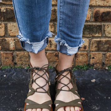 Cape Cod Sandals - Olive