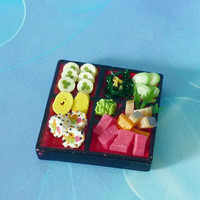 Sushi C Japanese food Dollhouse miniature, Doll house decorative, miniature japan food, Dollhouse decorating