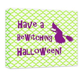 BeWitching Halloween Canvas Wall Art