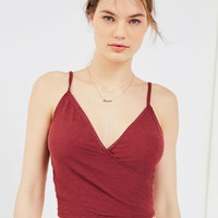 Out From Under Leah Wrap Cami | Urban Outfitters