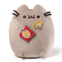Gund Pusheen Potato Chip Snackable 9.5-Inch Stuffed Toy Plush by Enesco
