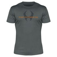 train. compete. live. 1.0 tee (Slate/Atomic Orange)