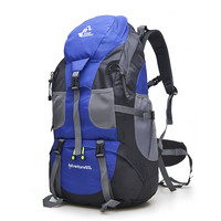 Free Knight 50L Outdoor Hiking Bag, Waterproof Tourist Travel Mountaineering Backpack,Trekking Camping Climbing Sport Bags