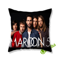 Maroon 5 Square Pillow Cover