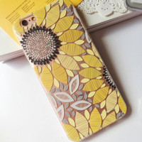 Sunflower iPhone 7 7 Plus & iPhone 6 6s Plus & iPhone 5s se Case Personal Tailor Cover + Gift Box