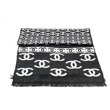 Perfect CHANEL Woman Fashion Accessories Sunscreen Cape Scarf Scarves