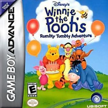 Winnie the Pooh Rumbly Tumbly Adventure Nintendo Game Boy Advance