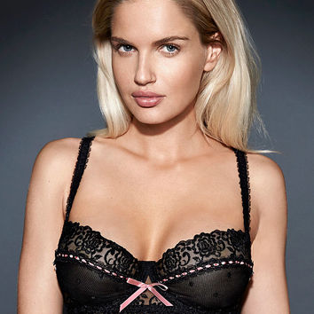 The NEW Desire Mesh & Lace Bra