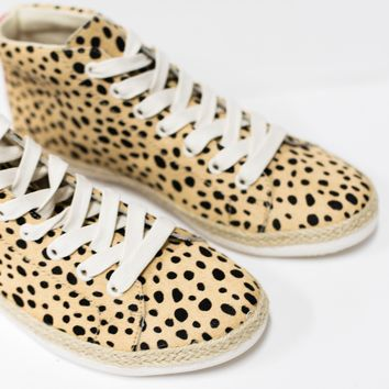 Akello Calf Hair Sneaker