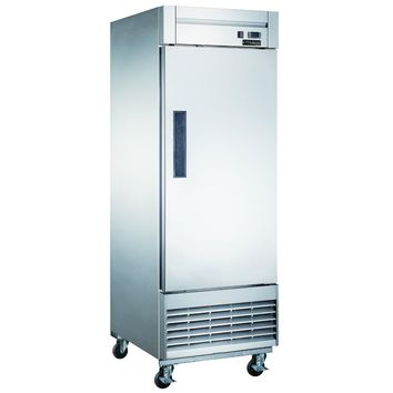 Commercial Kitchen Single Door Reach-In Freezer 27""