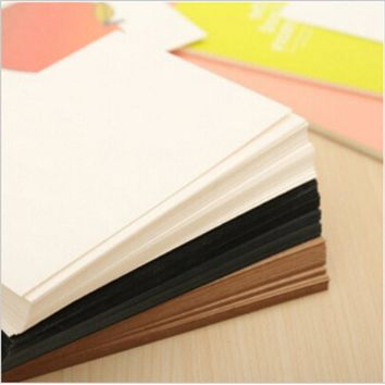 20 pcs/lot DIY Vintage Retro Kraft Paper Postcards Blank Paper Greeting Cards Memo Pad Office School Supplies Free shipping 373