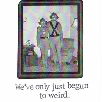 We've Only Just Begun To Weird Valentine's Day Card | Funny Valentine Vintage Aliens Nerdy Geek Love Men Women For Him For Her