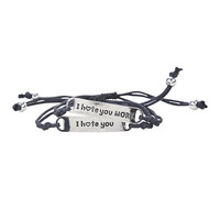 I Hate You Best Friend Bracelet Set