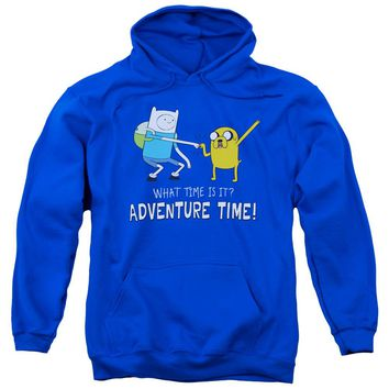 Adventure Time - Fist Bump Adult Pull Over Hoodie