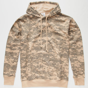 Rothco Acu Digital Camo Mens Hoodie Camo  In Sizes