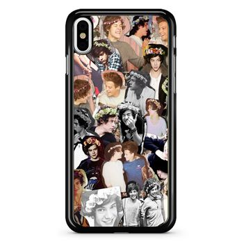 Harry Styles Collage One Direction iPhone X Case