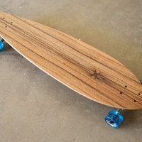 "40 inch Concave 7 ply ""Joe's Point"" Longboard skateboard (Complete)"