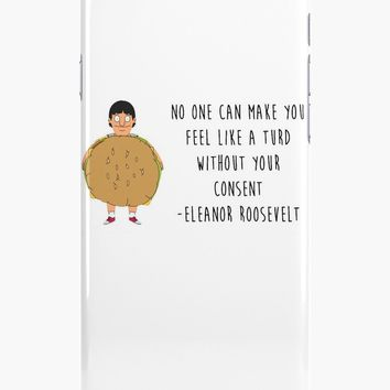 'Gene Belcher - Bobs Burgers' iPhone Case/Skin by harmonks