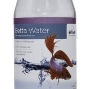 AQUATICS - BETTA ACCESSORIES - BETTA PRE-CONDITIONED WATER - 1GAL - ELIVE, LLC - UPC: 81997012283 - DEPT: AQUATIC PRODUCTS