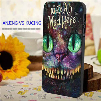 were ah mad here nebula for iphone, samsung galaxy and ipod case